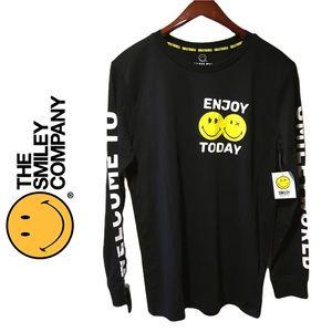 Smiley World Enjoy Today Long Sleeve Shirt